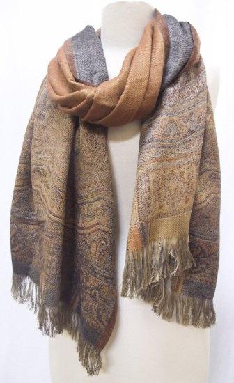 Multi-Wear Wrap - Gray Paisley Wrap by VIDA VIDA E51lbD6Db3