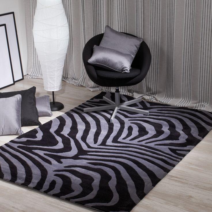 17 mejores ideas sobre alfombras de cebra en pinterest. Black Bedroom Furniture Sets. Home Design Ideas