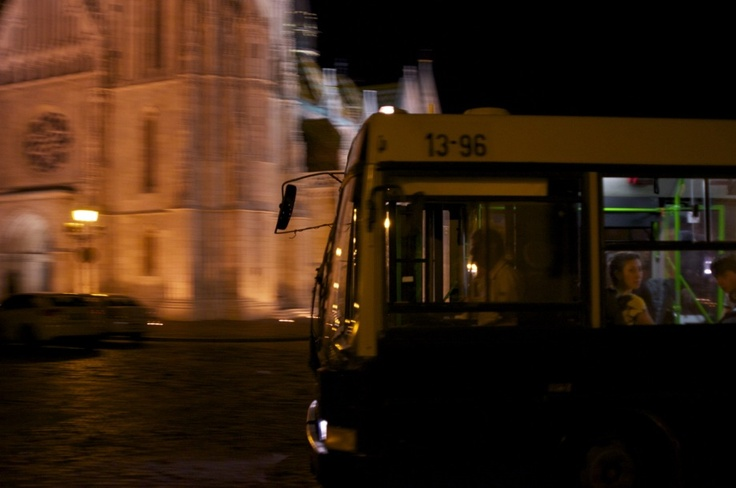 Late Night Bus - Budapest