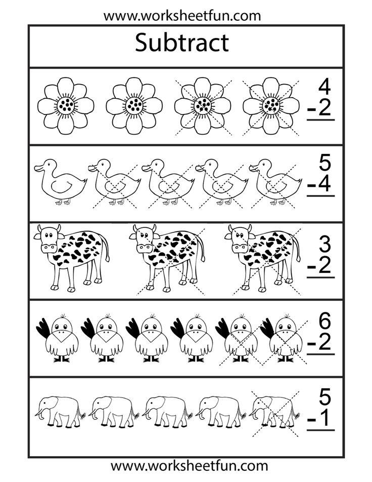 14 best Homeschooling: Subtraction images on Pinterest | Homeschool ...