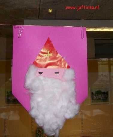 Vlaggenlijn Sinterklaas knutselen