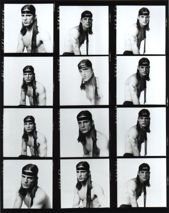 Joe Dallesandro by Andy Warhol.