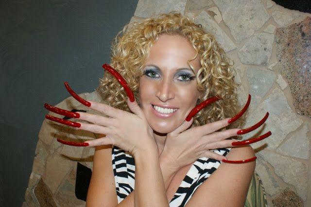 Very Long Nails Long Nails Long Fingernails Curved Nails