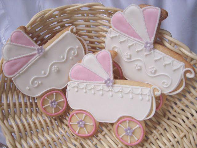 Gingerbread baby wagon / christening