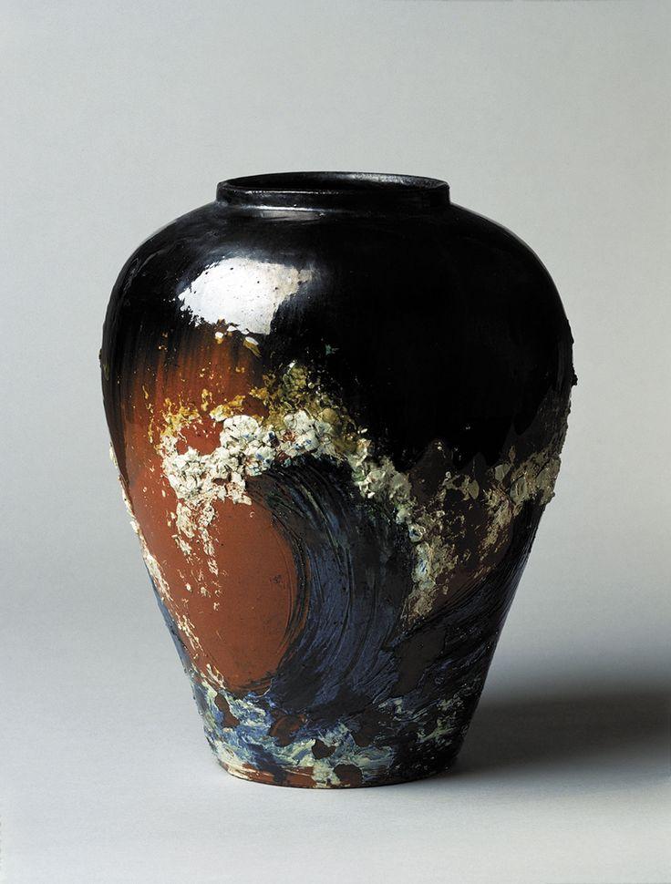 Vase by Thorvald Bindesbøll (1906); Koldinghus Museum, Kolding, Denmark