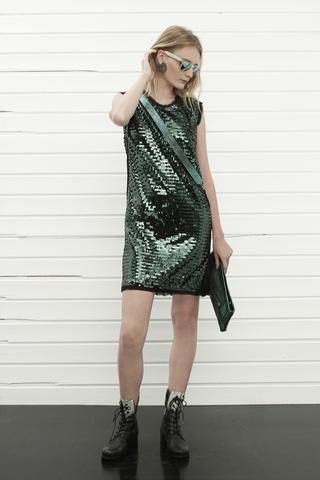 konsanszky_SS16_collection_TRIPSWITCH palliette dress