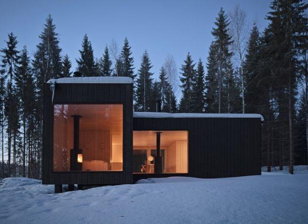 Vila čtyř světových stran. Design: Avanto Architects.