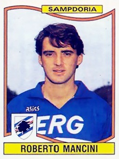 Roberto Mancini #Sampdoria