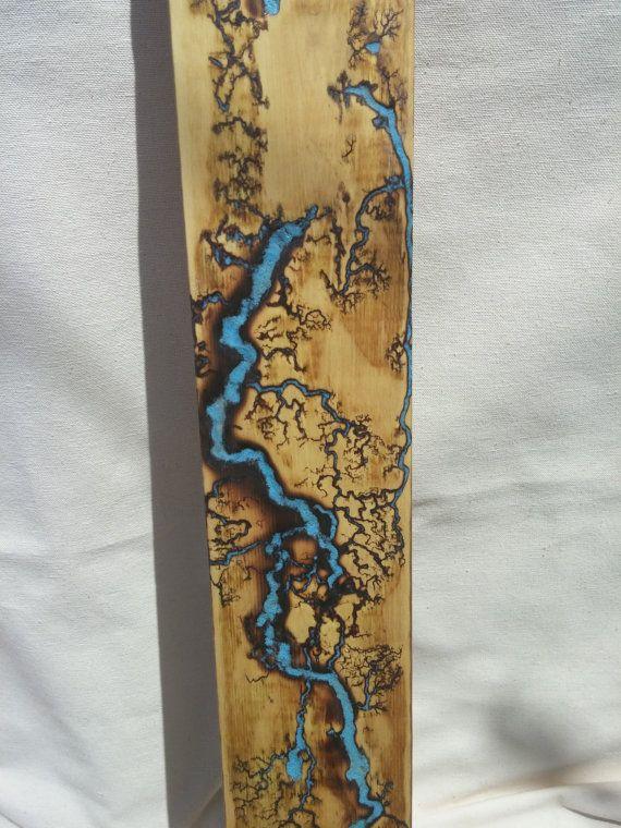 Lichtenberg figure woodworking - HomemadeTools.net