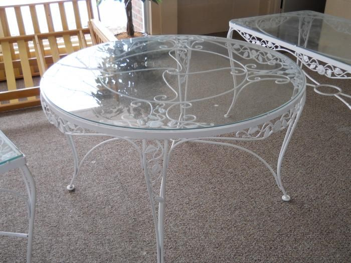 Buy Woodard Wrought Iron Antique Patio Furniture At Furniture Trader108  Best Wrought Iron Images On Pinterest