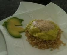 Avocado Fruit Whip with Almond Cream & Brown Rice   Official Thermomix Recipe Community