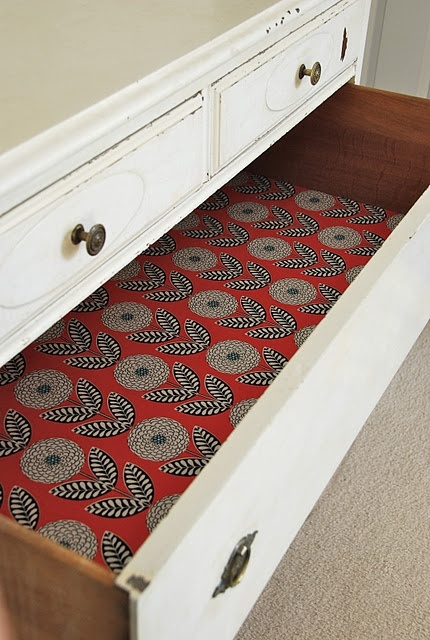 Blue Eyed Yonder Diy Drawer Liners Love The Lined Drawers