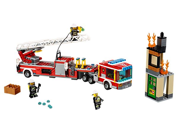 Drive the Fire Engine into action and keep LEGO® City safe!