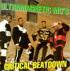 LP cover of 'Critical Beatdown' (1988)  One of my favorite classic rap albums.  Seriously.  Check it out.