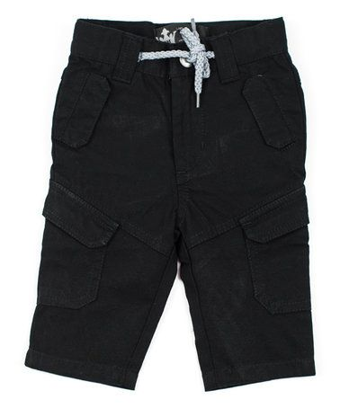 Love this Black Canvas Tactical Pants - Infant, Toddler & Boys on #zulily! #zulilyfinds