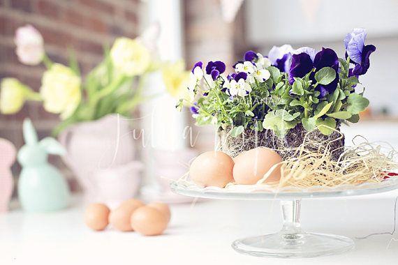 Easter  Styled Stock Photography flatlay mockup