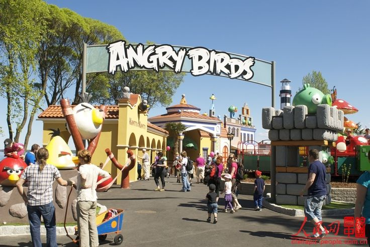 The Angry Birds Land was opened to the public in Sarkanniemi Adventure Park, Tampere, Finland on April 28, 2012. The 'Angry Birds' game developed by the Finnish game company Rovio for touch screen smart phones has quickly become popular around the world with a great success since it was launched at the end of 2009.