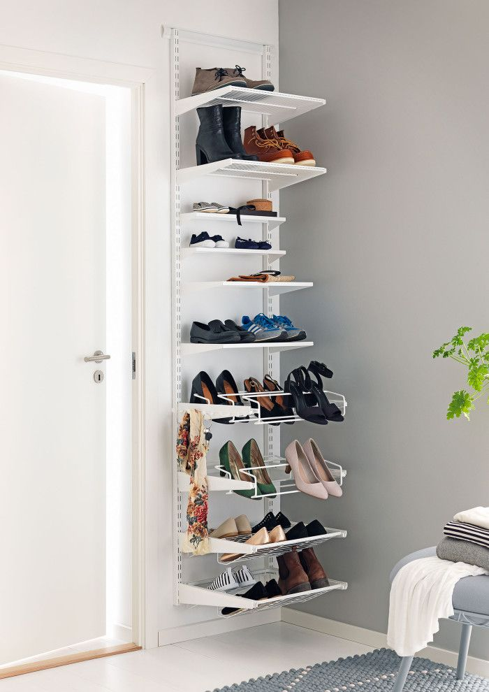 oh yeah (!), I've got enough skinny shelves to do this in the closet