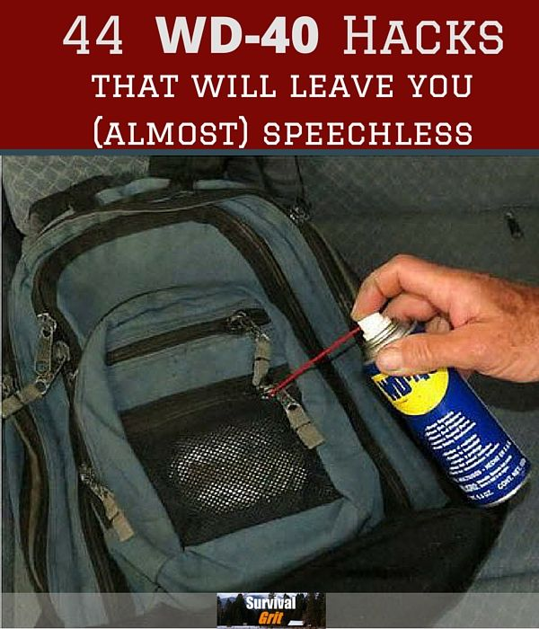 Homesteading: 44 Amazing Hacks for WD-40 That Will Leave You (Almost) Speechless