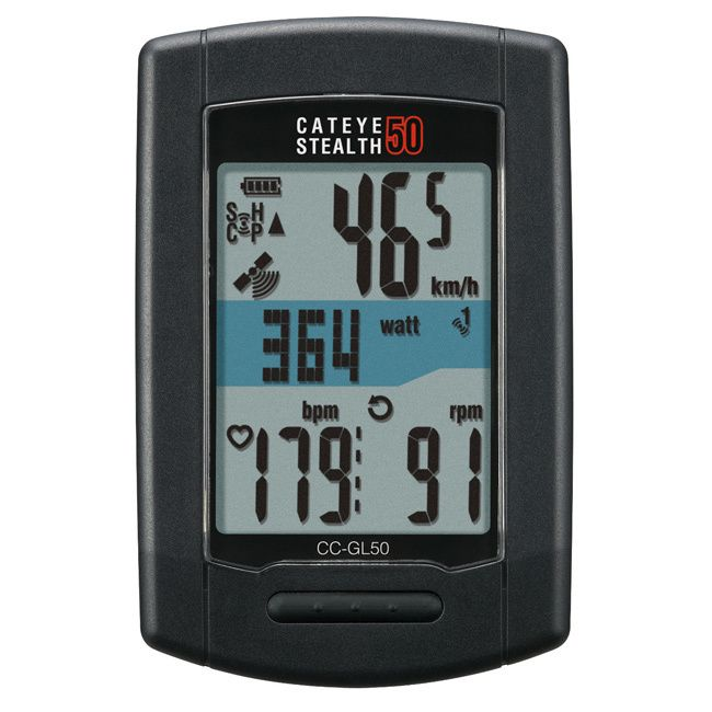 Cateye Stealth Plastic 50 GPS Cyclometer