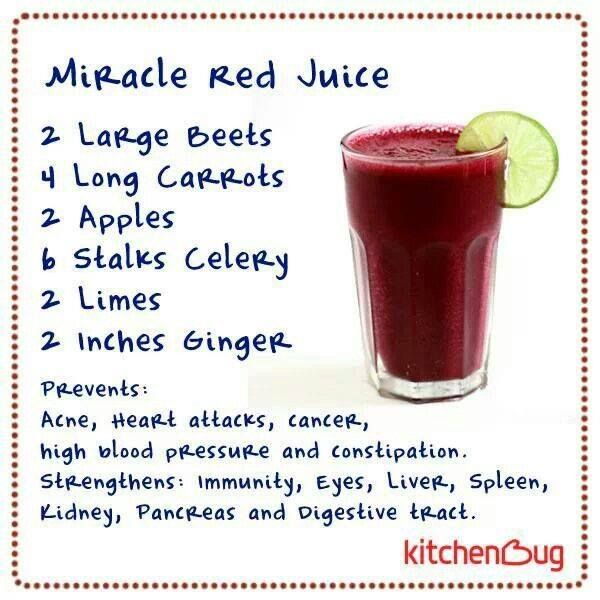 The Miracle Red Juice Just look at how many amazing benefits it can give.