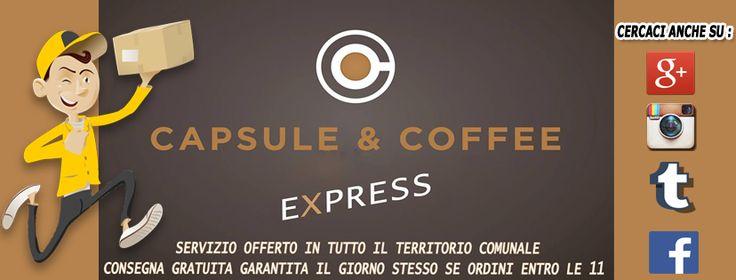 capsuleandco#capsule #cialde #caffe #Coffee #express #consegna #gratuita #Fano #serrungarina #saltara #barchi #piagge #mondolfo #montemagiore #orciano #montefelcino #Pesaro ordina entro le 11.00 consegna garantita entro le 16.00 info scrivici a fanocaffeshop@Gmail.com o chiamaci allo 0721-823785 ☕️❤️