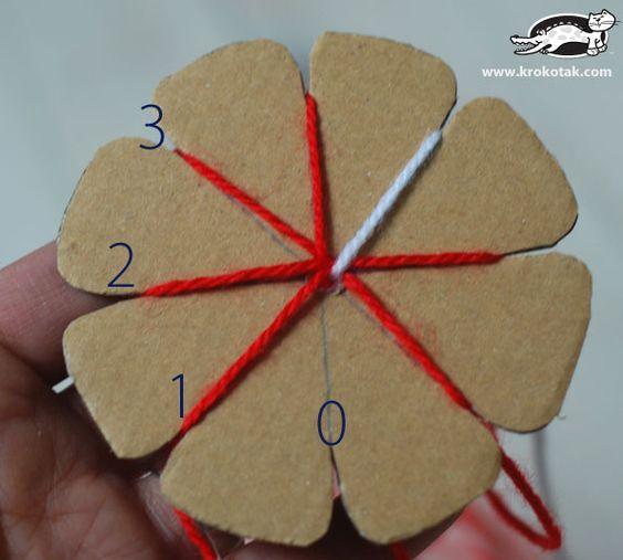 Martenitsa Bracelet – the KUMIHIMO Technique   krokotak