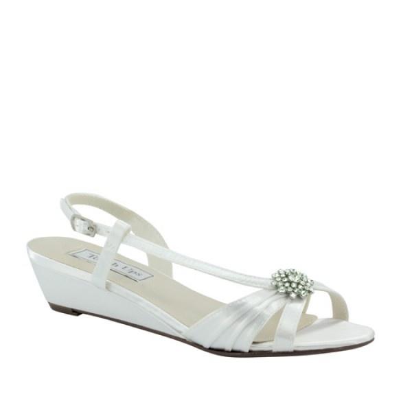 Touch Ups Womens Monroet Black Silk - Sandals