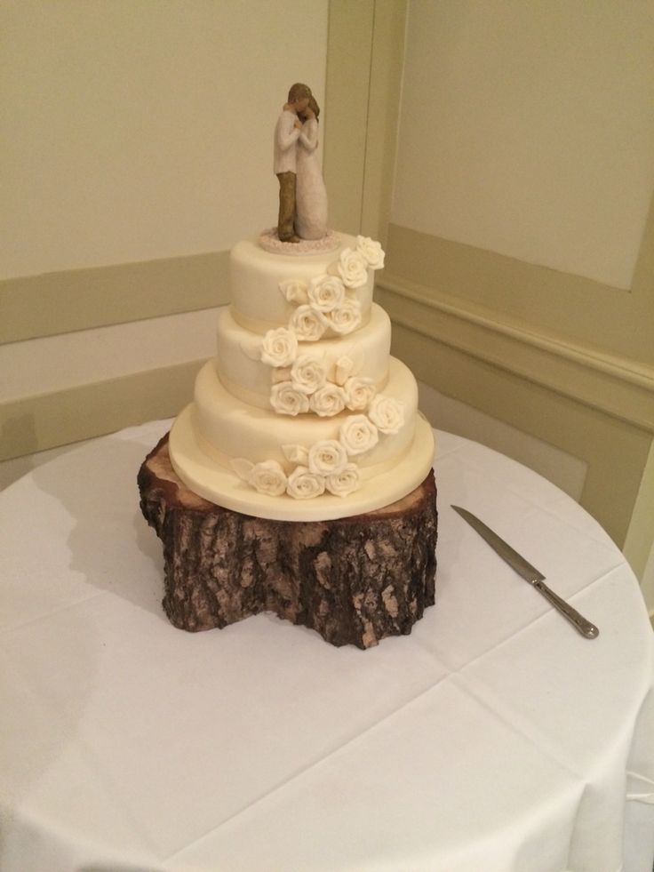Will tree cake topper rustic wedding cake marks and Spencer's amazing cake