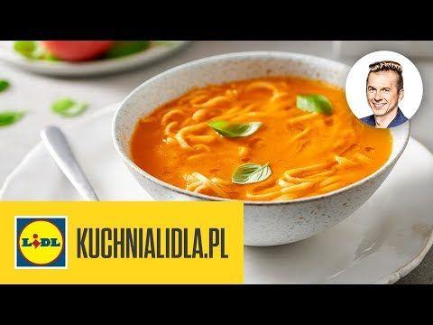 Zupa Pomidorowa Z Domowym Makaronem Karol Okrasa