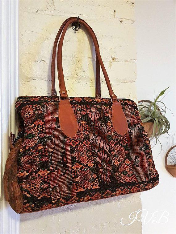 Vintage boho purse boho handbag boho bag weekender style
