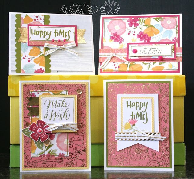 Attractive Card Making Ideas Close To My Heart Part - 14: May Is National Scrapbook Month So Close To My Heart Made A Special Paper  Pack And Stamp Set Just For The Occasion. Theyu0027re Offering A Fre.