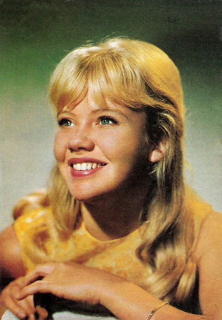 Hayley Mills - I loved her so much when I was a girl!  She starred in The Moonspinners which is still a sentimental favourite.