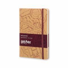 Carnet - Moleskine Harry Potter Limited Edition Notebook Large Ruled Hard - Marauder's Map