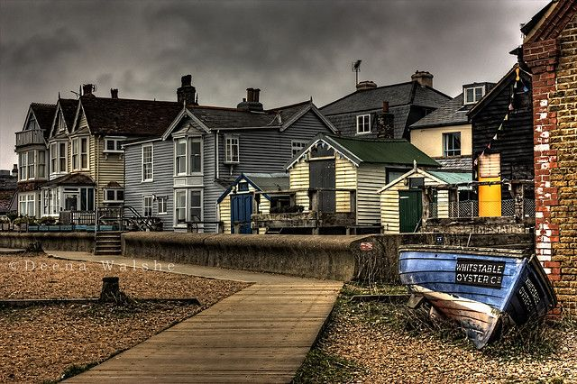 down on the beach at Whitstable, Kent - this pic reminds me of the day I fell in love with Whitstable for the first time...
