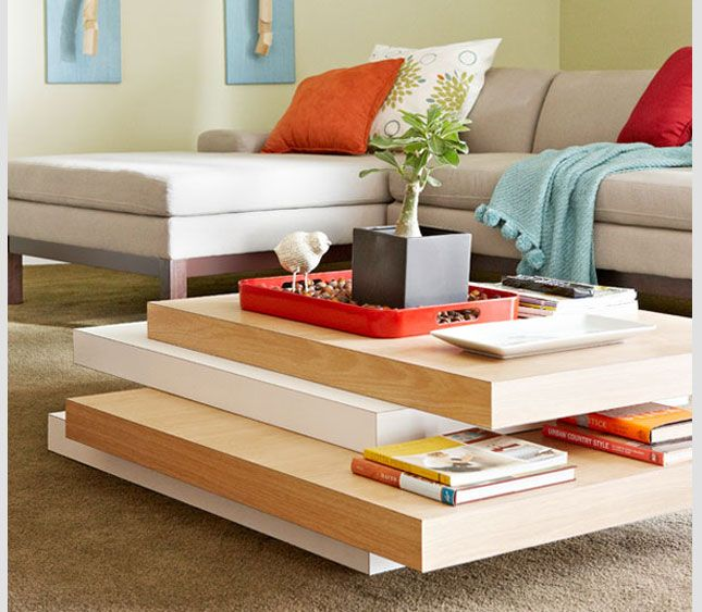 Colorful Modern Coffee Table: 17 Best Ideas About Unique Coffee Table On Pinterest