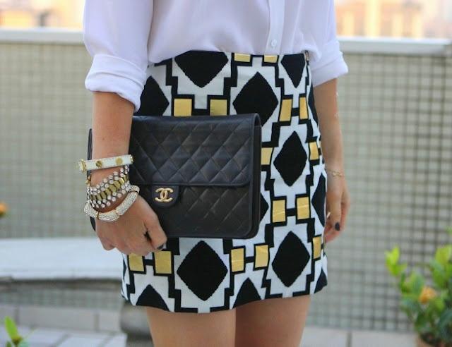 the skirt! the bag's nice too, i guess.