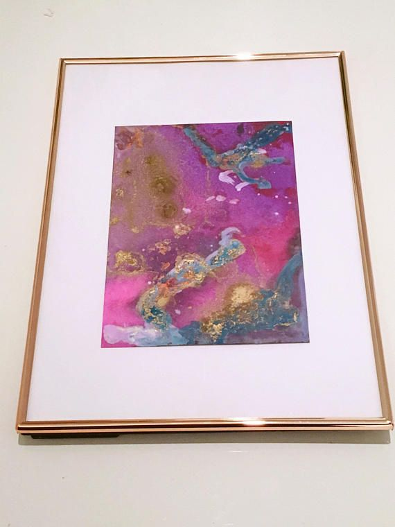Original Abstract Painting 'Mrs Universe'