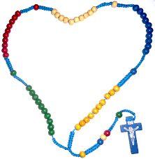 Resultado de imagen para rosario misionero significado de los colores
