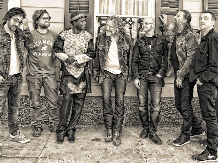 Robert Plant and his new band The Sensational Space Shifters with their 1st song Rainbow. Album to come in September!