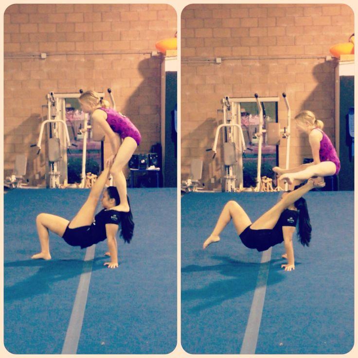 Acrobatic Gymnastics Emily Kate