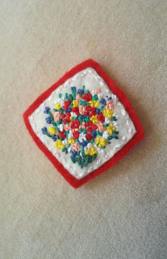 Valentine's Bouquet (Patch, Pin, Brooch, or Magnet)