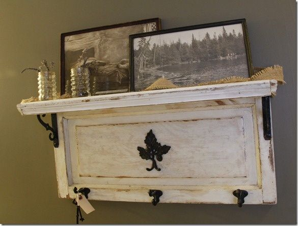 Crafts with Old Cabinet Doors | What to do with the old cabinet door I ... | DIY for Home and Crafts