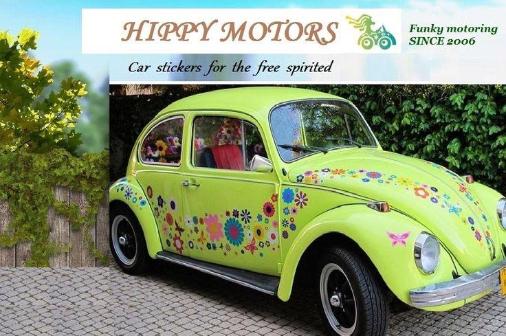 Para que perciosas flores adornen no sólo tu casa sini tu coches Hippy Motors ha preparado para usted una serie de pegatinas de FLORES.  Ideas para decorar un coche o cualquier superficie lisa encontrará en nuestra página web http://hippymotors.es/…/100-flores-funky-margaritas-gerberas