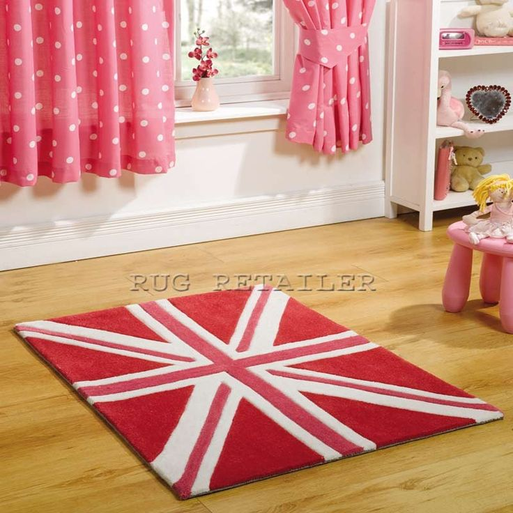 17 best images about bright bedroom on pinterest single for Pink union jack bedding