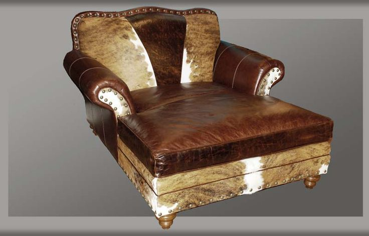 215 best western accent chairs images on pinterest for Chaise and a half lounge