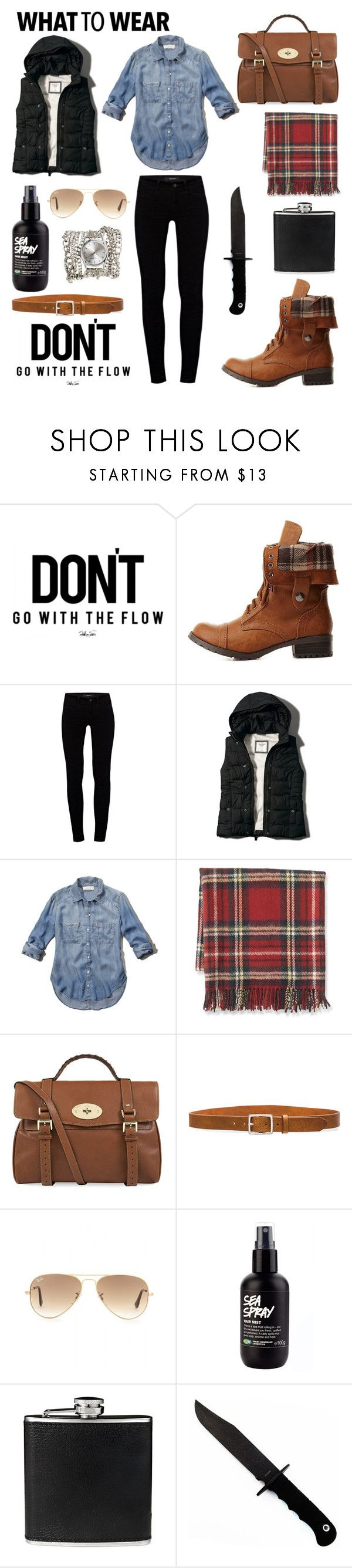 """Black Friday"" by modernandsmash ❤ liked on Polyvore featuring Charlotte Russe, J Brand, Abercrombie & Fitch, Williams-Sonoma, Mulberry, rag & bone, Ray-Ban, BLACK BROWN 1826, Sara Designs and shoptilyoudrop"