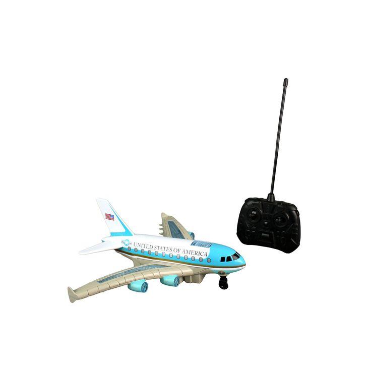 Daron Remote Control Air Force One Plane, Multicolor