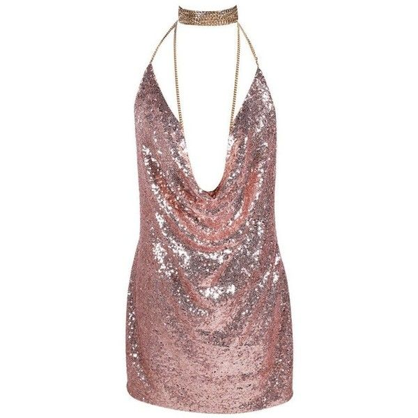Sexy Sequined Party Dress (565 NOK) ❤ liked on Polyvore featuring dresses, vestidos, short dress, sequin party dresses, party dresses, sexy cocktail dresses, short red dress and sexy dresses