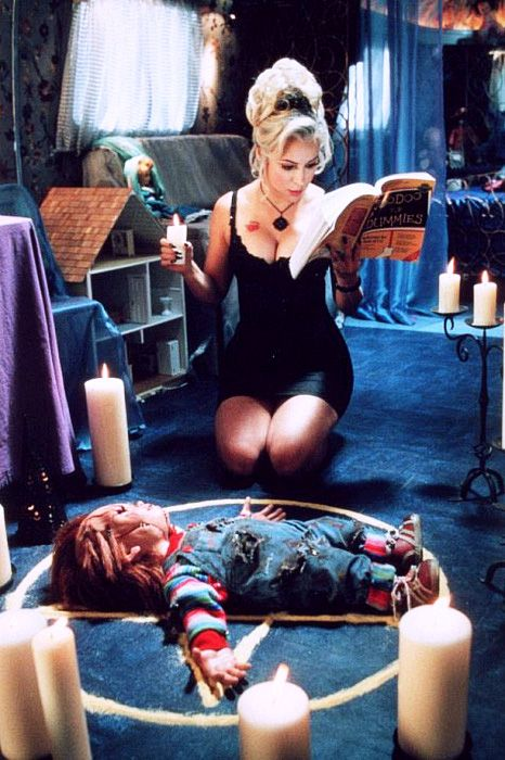 Chucky was a weird movie. I'm glad these movies got left in the 90s.
